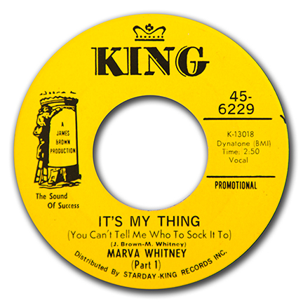 Marva Whitney - Its My Thing