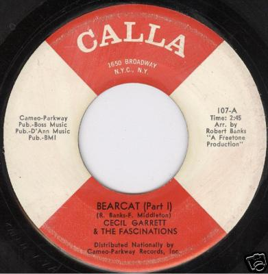 cecil garrett and the fascinations - bearcat