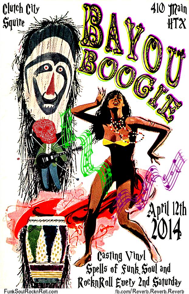 Bayou Boogie - WooDoo VooDoo Boogaloo