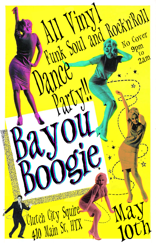 Bayou Boogie - Rock the Night Away : May 10th